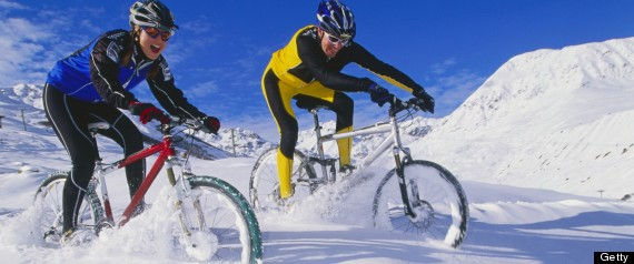 cycling winter men