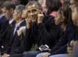 Obamas Greeted With Cheers And Boos At Oregon State-Maryland Basketball Game