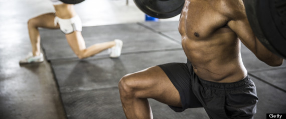 man lunge gym