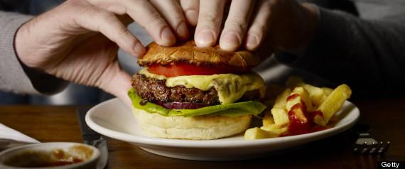 pick up hamburger fries