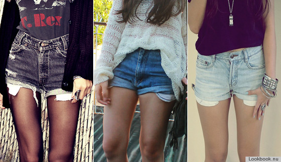 High Waisted Shorts Fashion Trend