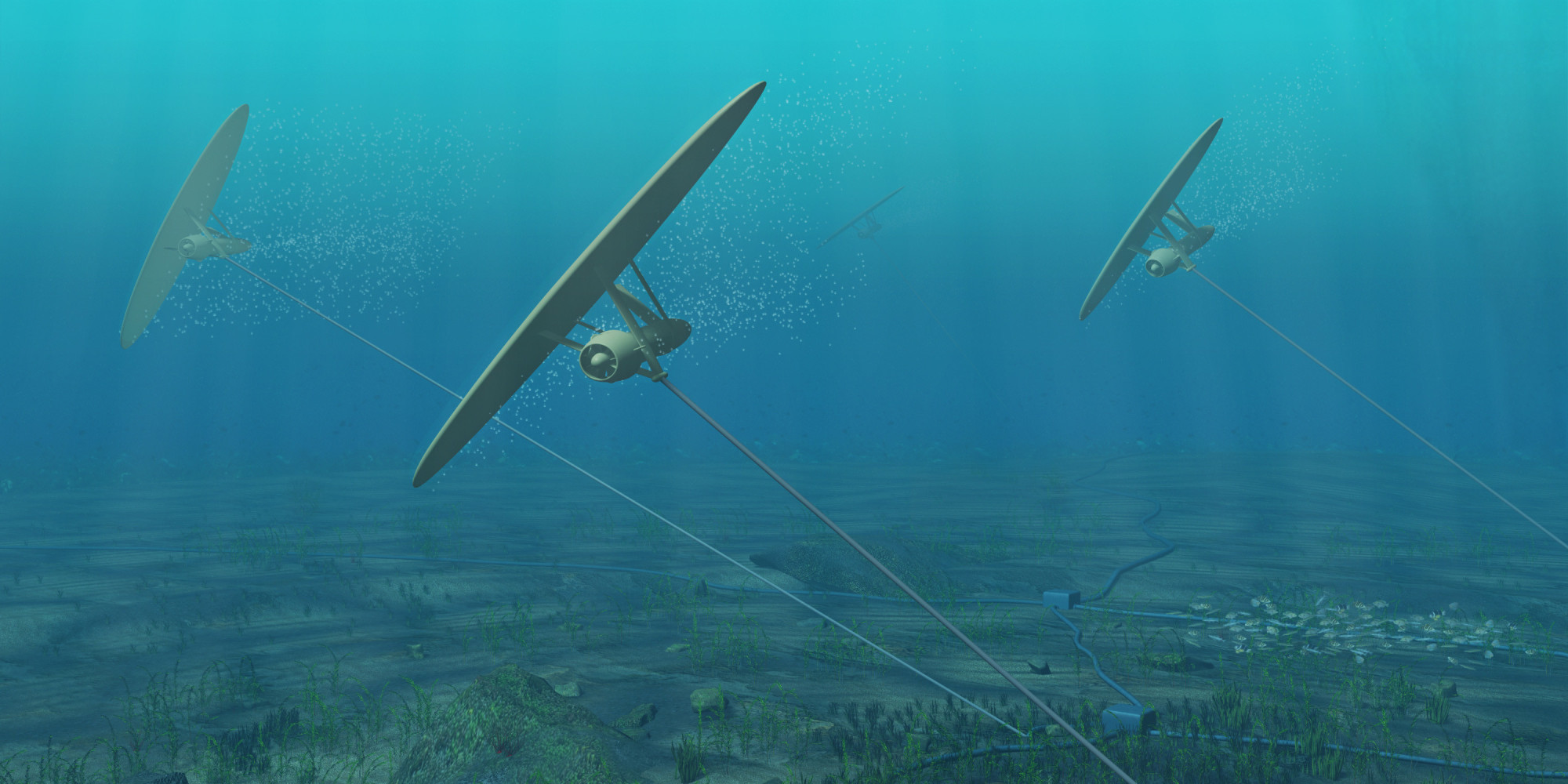 Underwater Kite Power Generators Could Harness Ocean