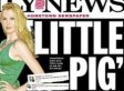 New York Daily News' Ireland Baldwin Cover: 'Little Pig Comes To The Rescue' (PHOTO)