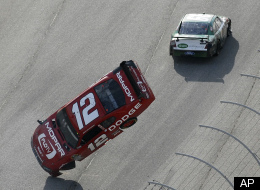 Carl Edwards Brad Keselowski Crash Video