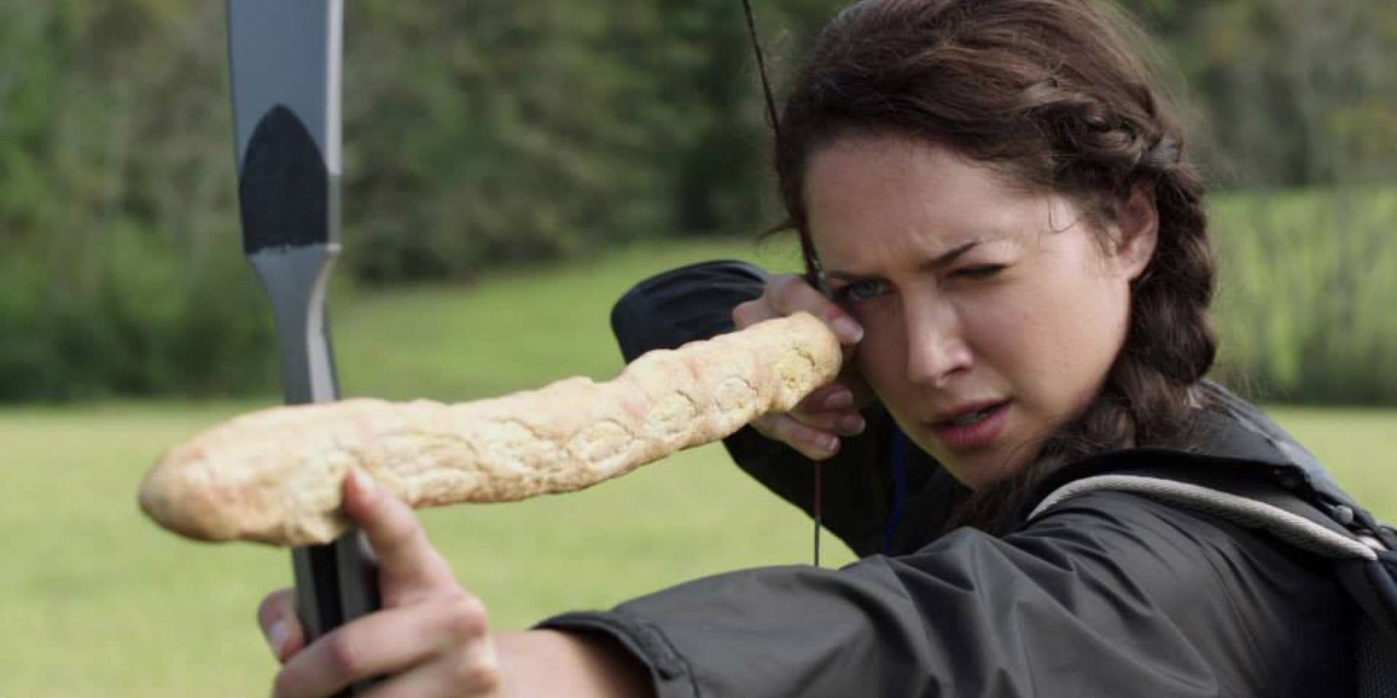 The hunger games bread