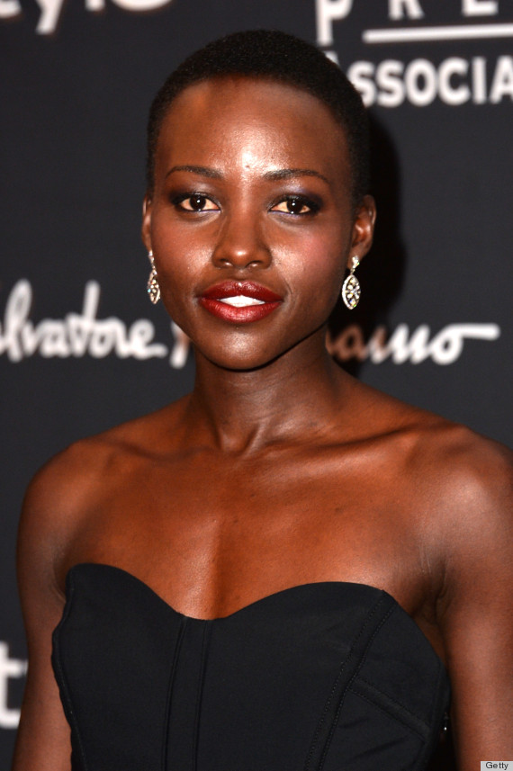 Lupita Nyong O S 11 Loveliest Lipstick Looks So Far