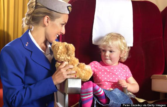 flight attendant child