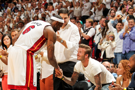 lebron james david beckham