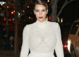 Kim Kardashian Steps Out In Nude See-Through Top At Mario Testino Event (PICTURES)