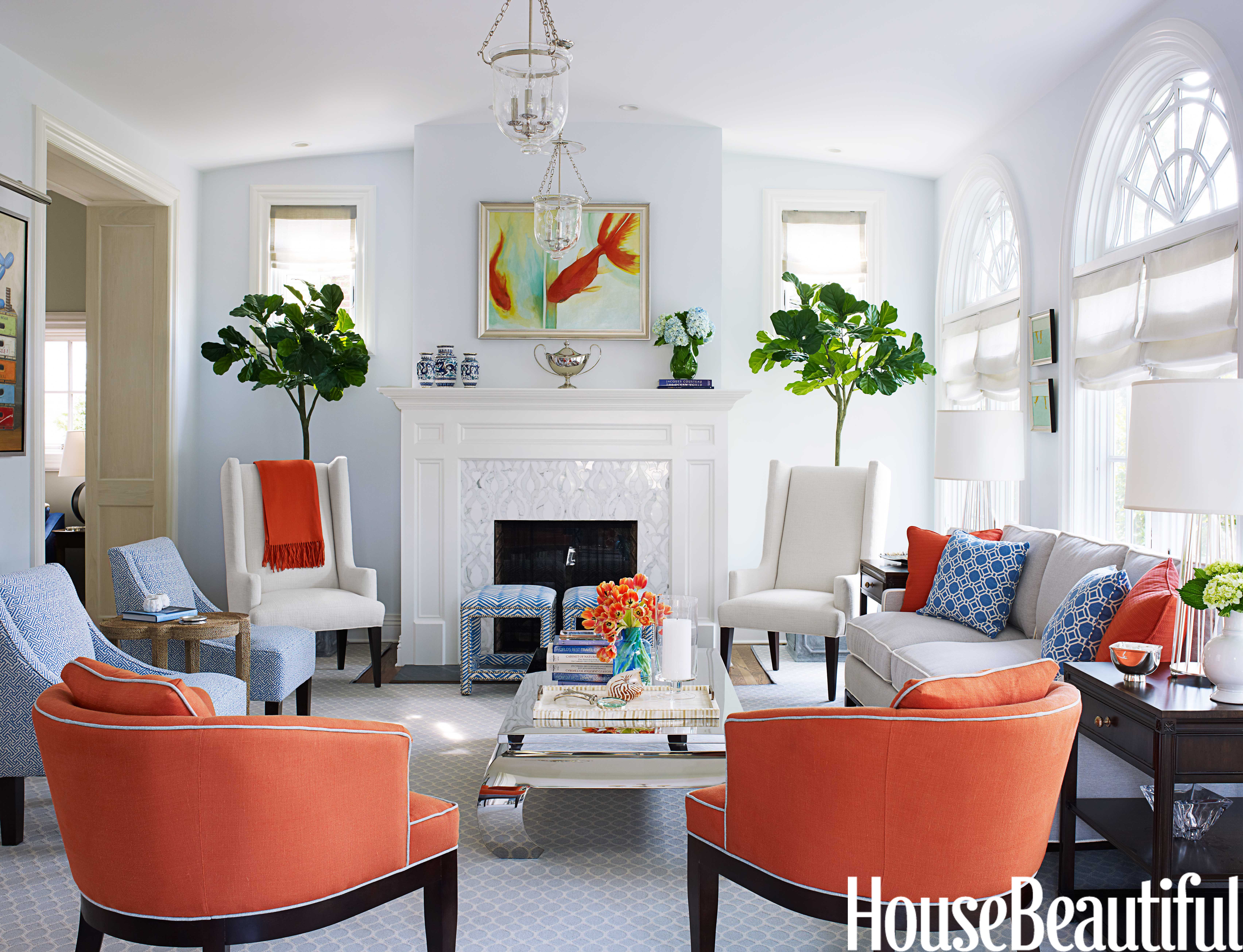 Designer Libby Langdon Covers House Beautiful, Reveals 4