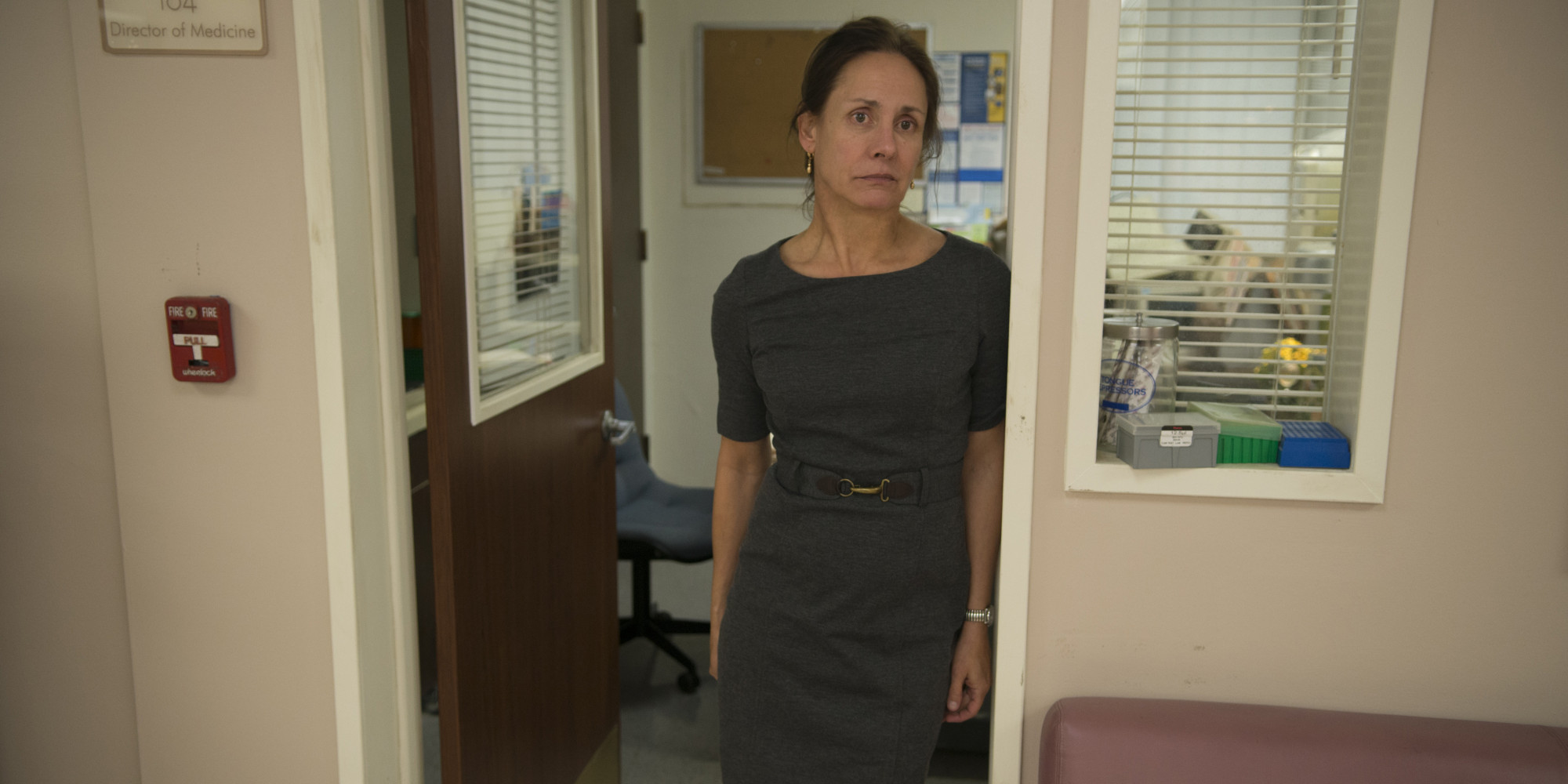 Laurie Metcalf getting on interview