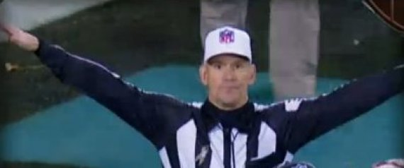 Referee Clete Blakeman