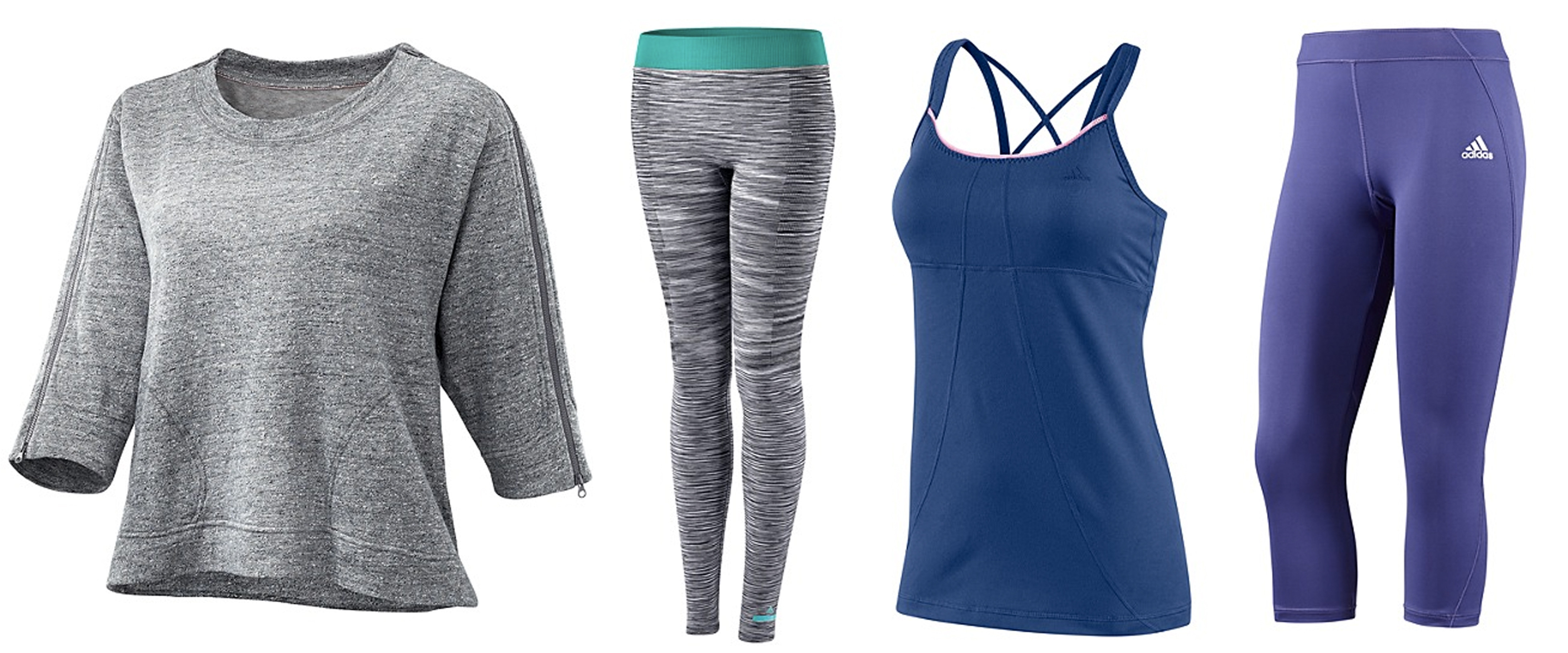 See All Affordable Workout Clothes - Clearance · Women's Go-Dry Ruched Tanks
