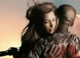 Kim And Kanye's Steamy Video In GIFS