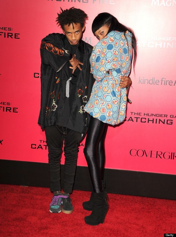 jaden smith and his sister willow get weird on the hunger