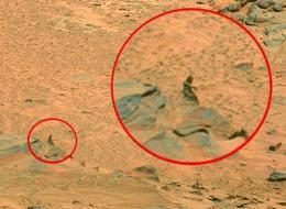 aliens on mars