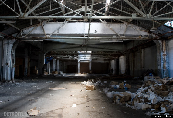 packard plant before