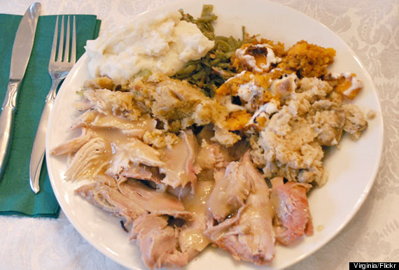 thanksgiving & LOOK: Can You Guess How Many Calories Are On Your Thanksgiving Plate ...