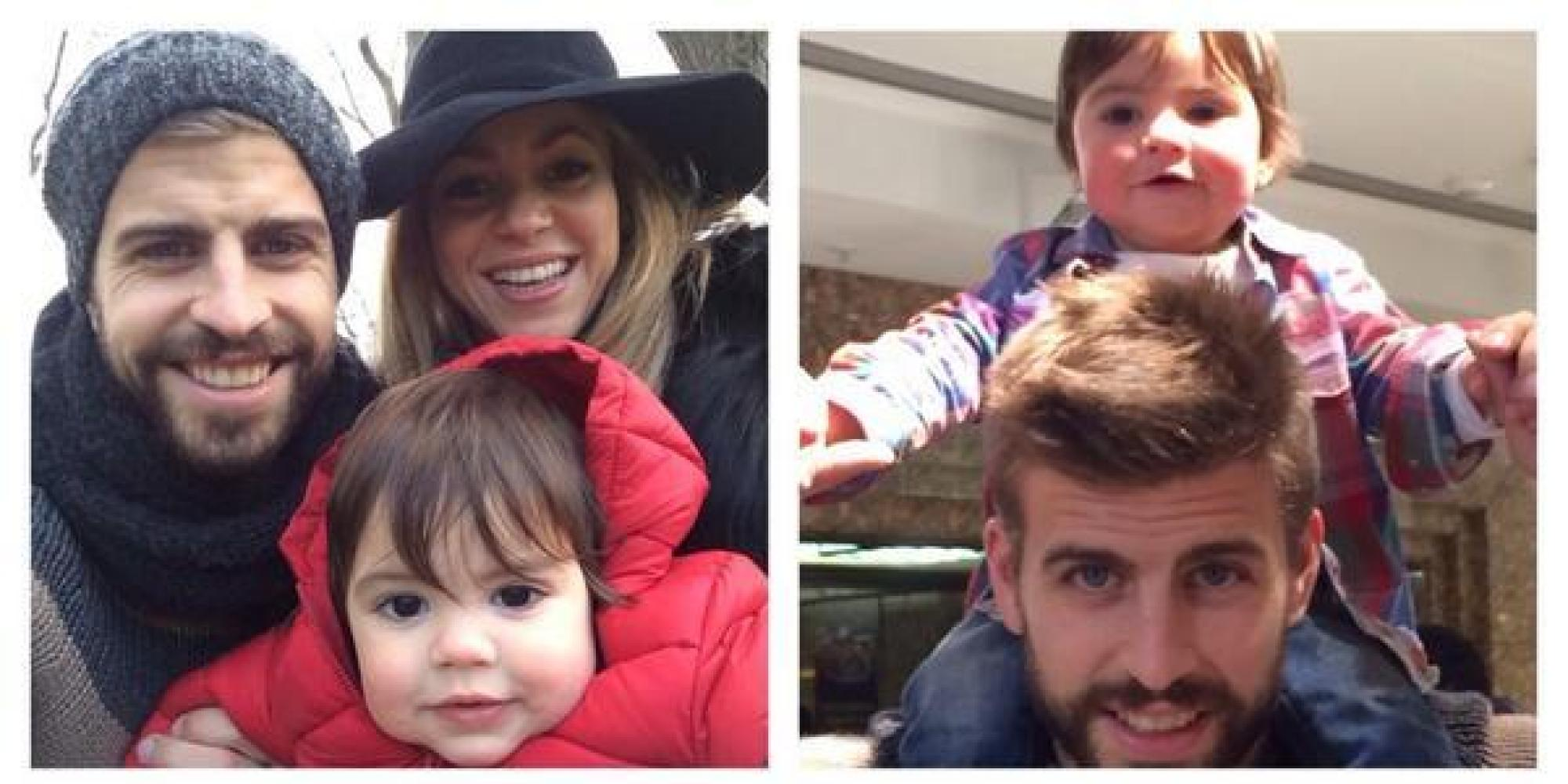 Gerard Pique and Shakira kissed in public when they attended match ...