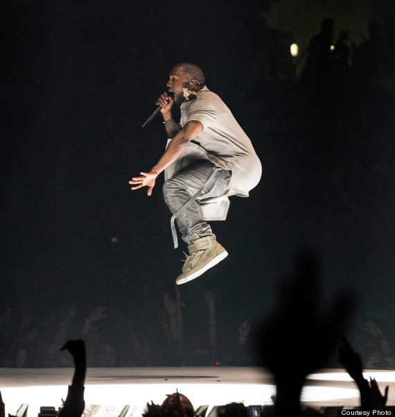 'Don't Even Listen To Me': Kanye's Yeezus Tour Triumphs In ... Kanye West Yeezus Concert