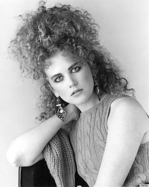 Magnificent 80S Hair That Is So Bad It39S Good Photos The Huffington Post Short Hairstyles Gunalazisus