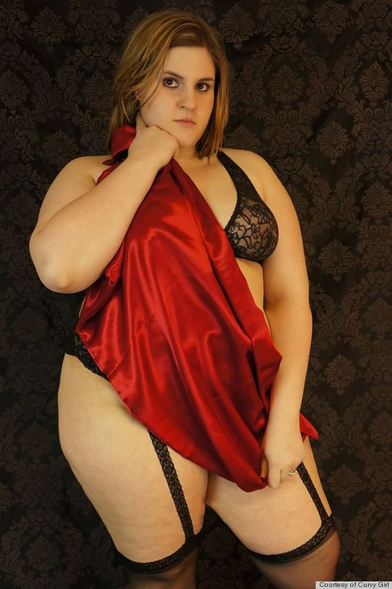 Amateur Plus Size Women In Lingerie