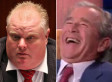 George W. Bush Loses It Over Rob Ford On Leno (VIDEO)