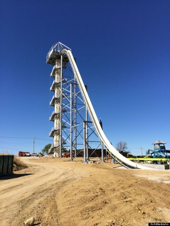 World S Tallest Waterslide Looks Absolutely Terrifying