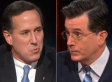 Stephen Colbert Presses Rick Santorum On Gay Marriage: 'Hasn't This One Slipped Away From Us?'