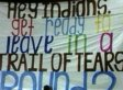 'Trail Of Tears' Banner Controversy Prompts Apology From School