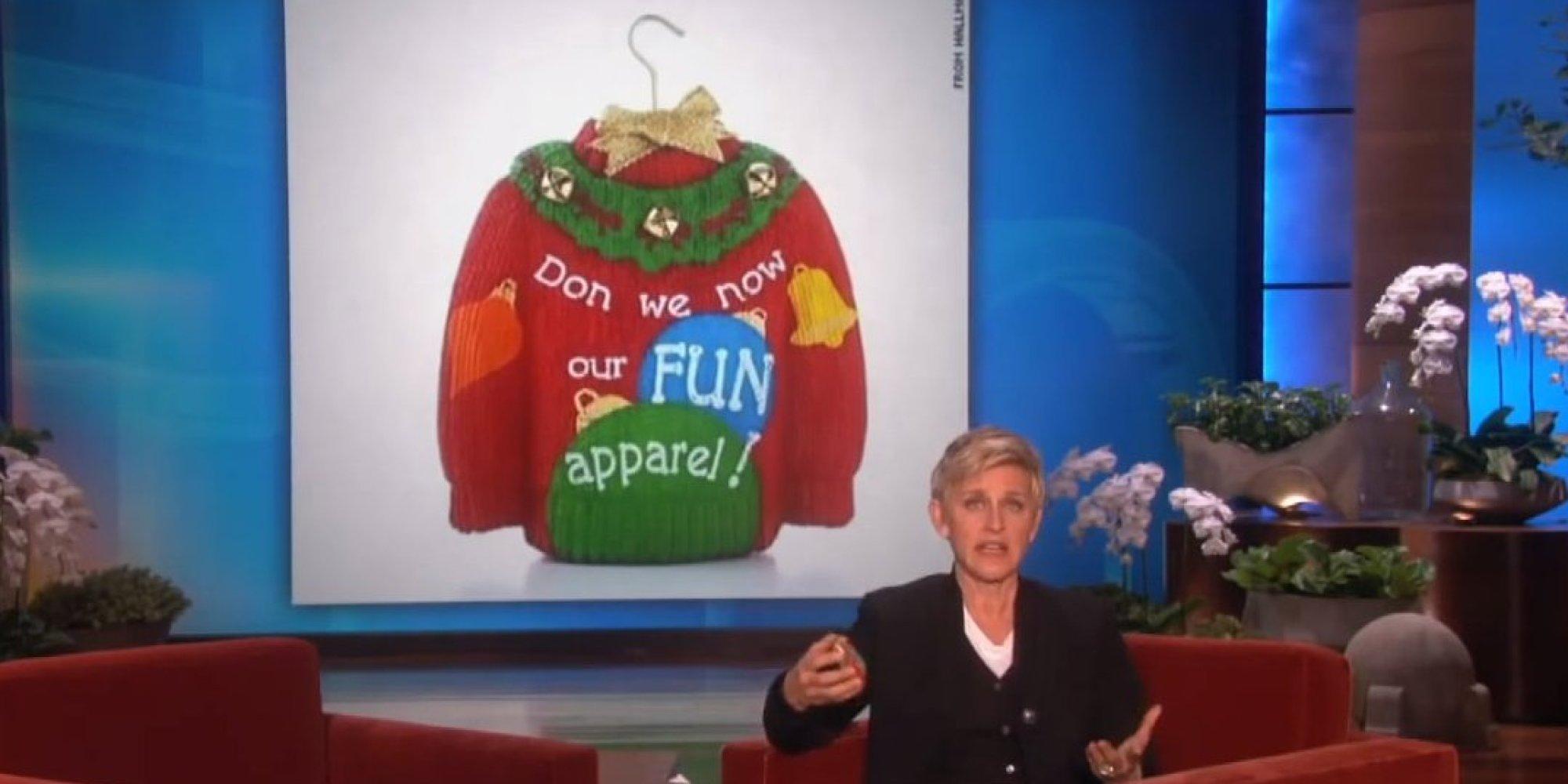 Ellen degeneres on hallmark 39 s gay ornament controversy - Hallmark espana ...
