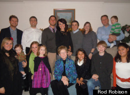 rod robison family