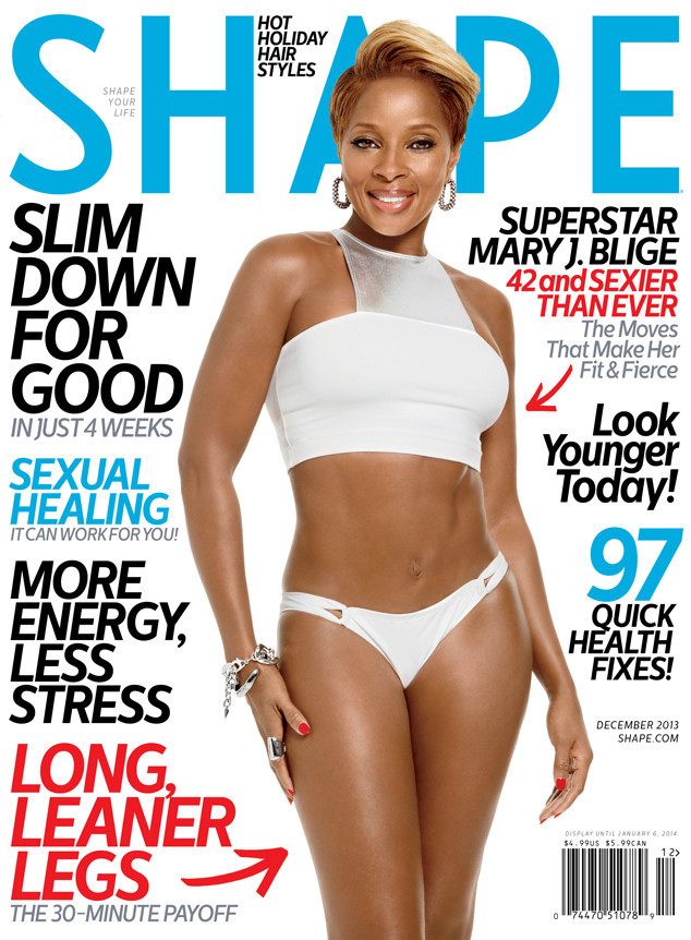 mary j blige shape