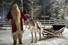 Santa and reindeer - file image | Pic: Getty