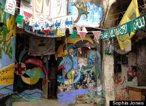 refugee camp shatila