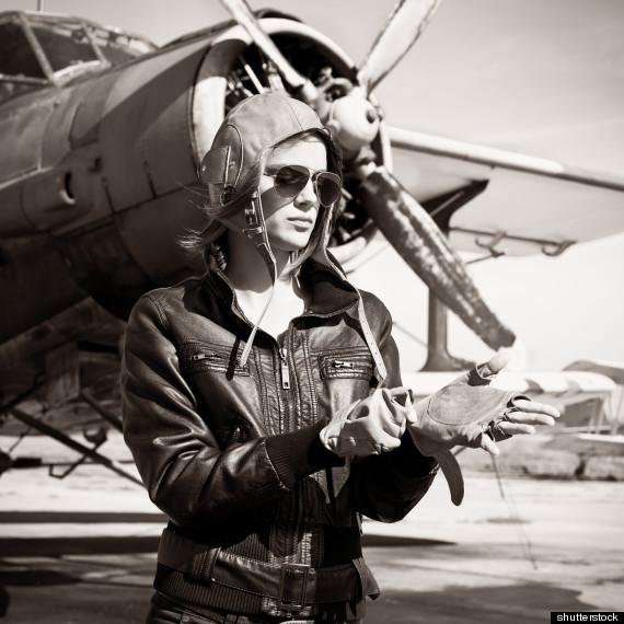 woman pilot