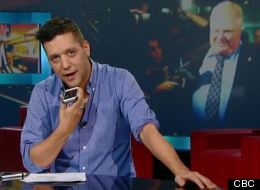 WATCH: Strombo's Call To Rob Ford Does Not Go As Expected