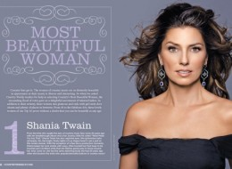 Shania Twain Most Beautiful Woman