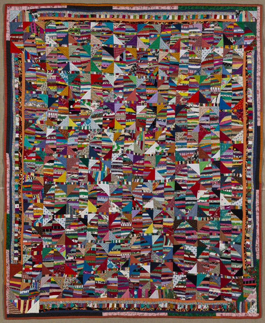 The Anonymous World Of Quilting Viewed Through The Eyes