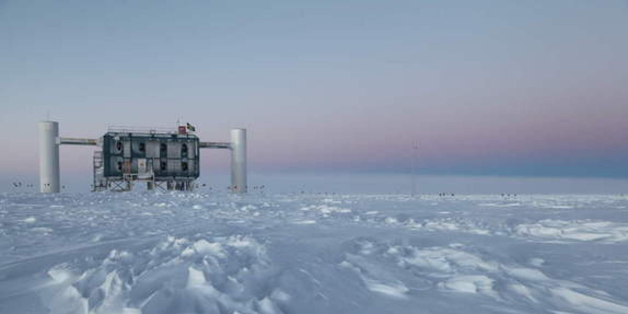 IceCube Neutrino Observatory Detects Ghostly Particles In ...Icecube Neutrino Observatory White Book