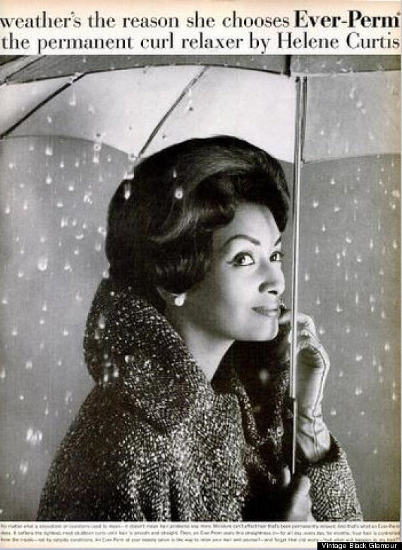 Helen Williams in a 1960 Helene Curtis ad.