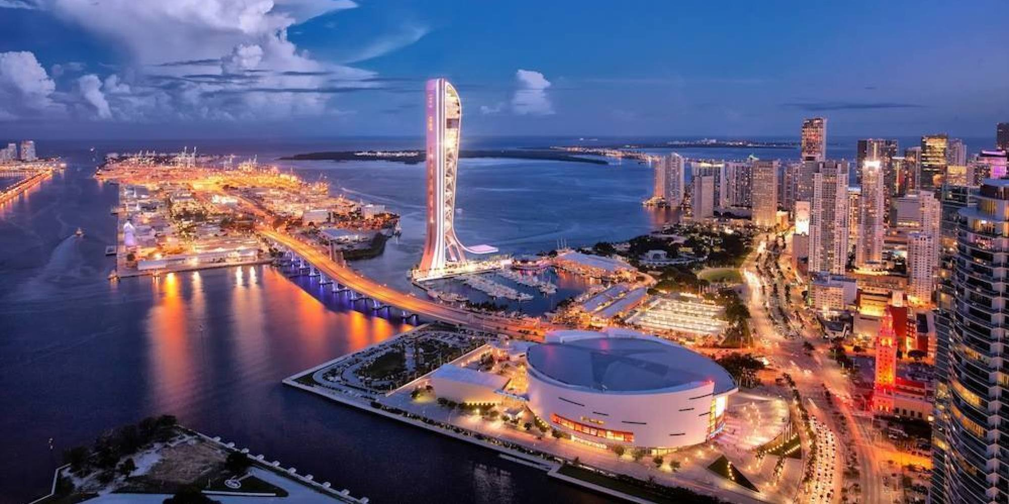 SkyRise Miami' Observation Tower May Be The Craziest Miami Thing Yet ...
