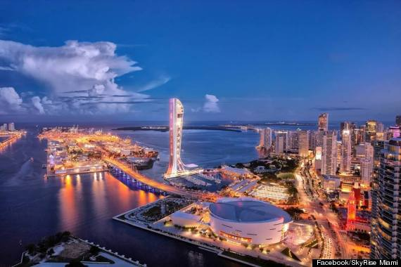 skyrise miami observation tower