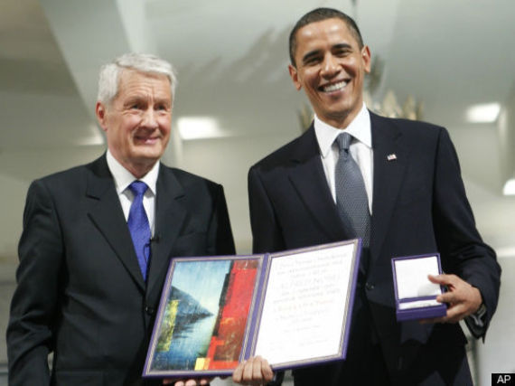 Nobel Peace Prize Gets Record Nominations Obama Re