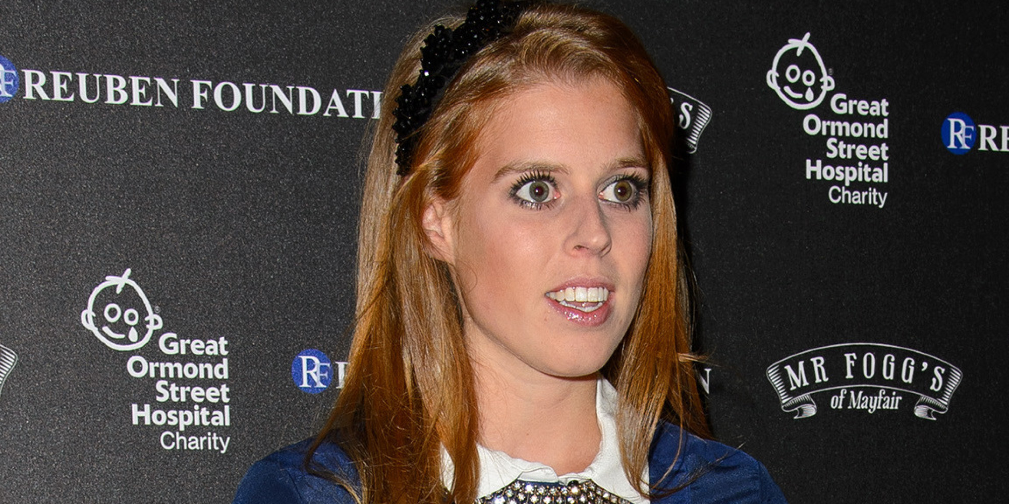 Princess Beatrice Makes Mixing Black And Navy Look Easy ...