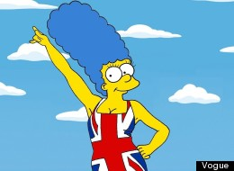 PICTURES: Marge Simpson Wears It Well