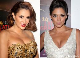 Escotes de infarto en los Latin Grammy