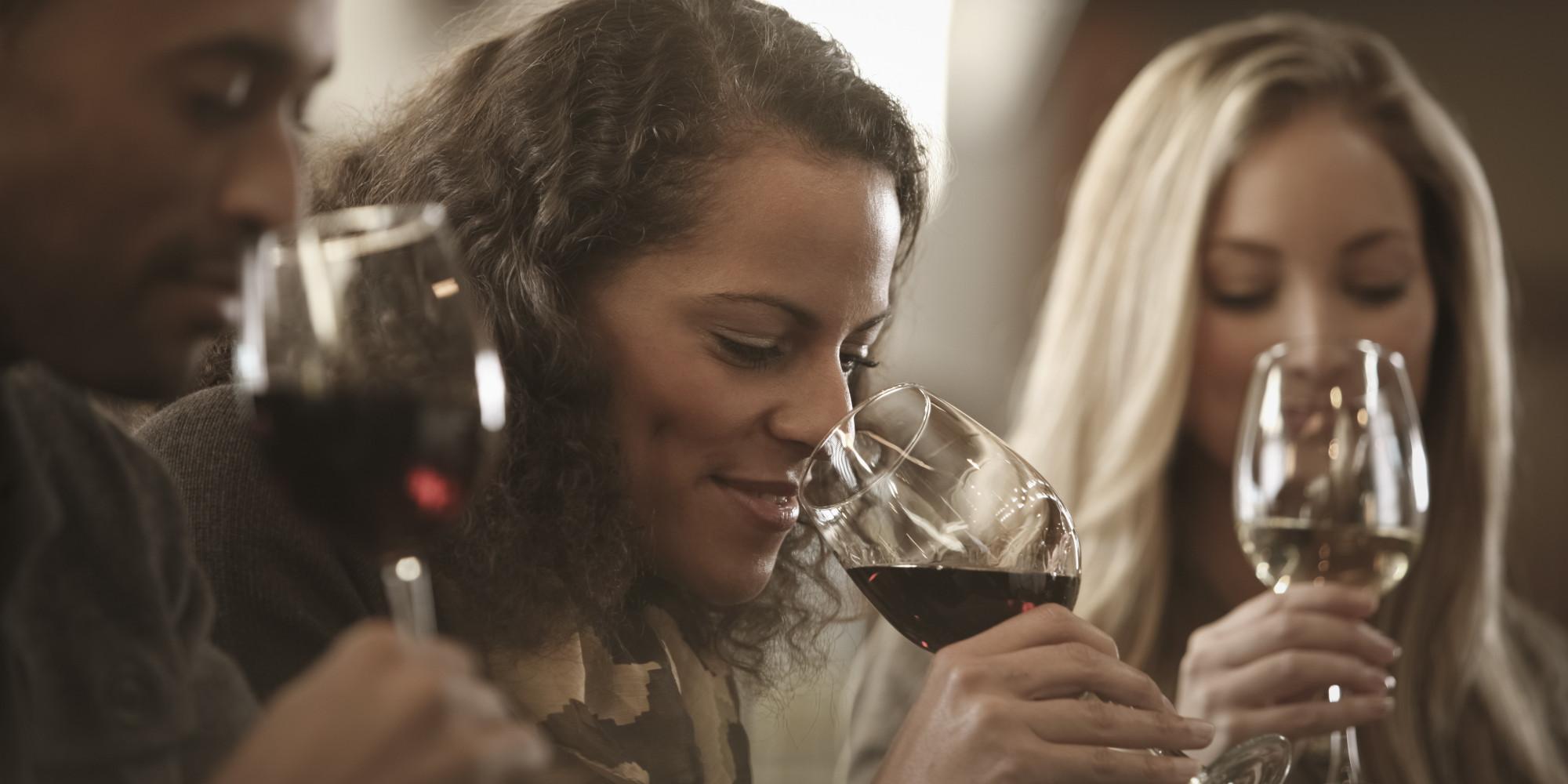 wine tasting - smell
