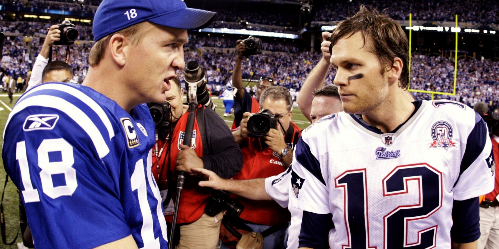 Peyton Manning And Tom Brady Photos Tom Brady-peyton Manning