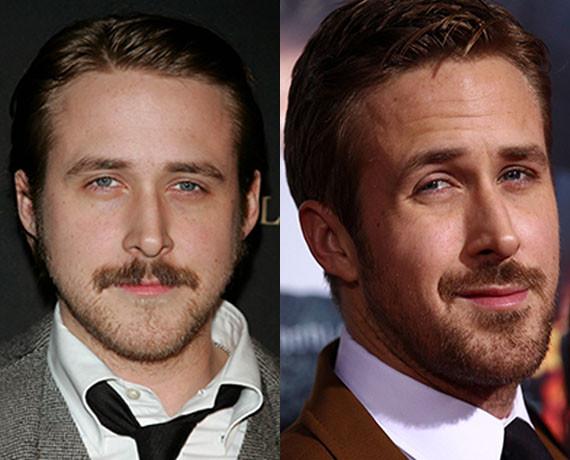 celebrity mustaches - Pinterest